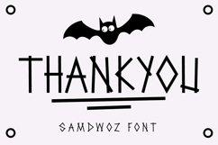 Samdwoz Graffiti Typeface Product Image 7