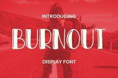 Web Font BURNOUT Font Product Image 1
