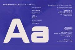 Superstellar - Sans serif font family Product Image 3