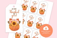 Thanksgiving Printable Gift Tags Product Image 4