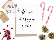 Christmas Card Mockup Bundle Product Image 5