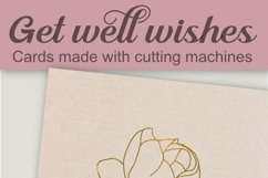 Get well wishes, single line, for foil quill and sketch pens Product Image 6
