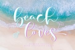 beach loves - Script Fonts Product Image 1