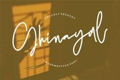 Web Font Ghinayal - A Handwritten Font Product Image 1