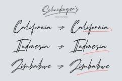 Schrödinger's | Signature Font Product Image 3