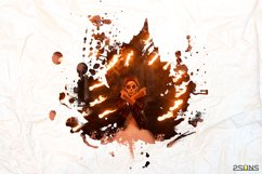 20 Beautiful portrait paint masks, halloween, Photoshop Product Image 5