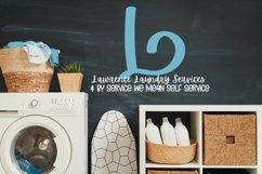 Web Font Monogram Font - Hand Lettered Monogram Letters A-Z Product Image 5