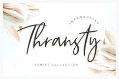 Thransty Handwritten Script Product Image 1