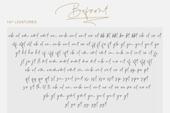 Befront - signature font Product Image 7
