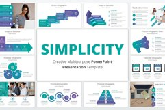 Simplicity multipurpose PowerPoint Presentation Template Product Image 1