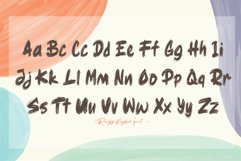 Ragsy   Cartoon layered font Product Image 5