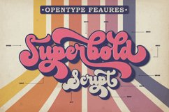 The Boldstyle | Retro Script Product Image 2