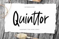 Quinttor Sans Serif Product Image 1
