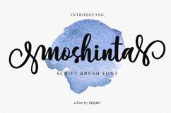 Moshinta Font Product Image 1