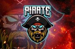 Pirate mascot gaming logo Product Image 1