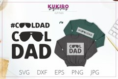 COOL DAD SVG - Father's day - FATHER cut file Product Image 1