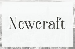 Newcraft Serif Product Image 1