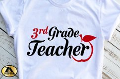 Teacher SVG PNG EPS DXF Teacher Quote SVG Teacher Life SVG Product Image 2