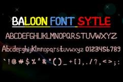 baloon font style Product Image 3