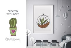 Cactus SVG and Seamless Pattern Product Image 2