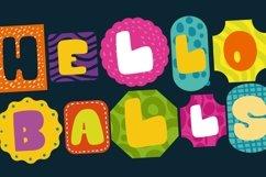 Hello Balls - Bold Font Product Image 6
