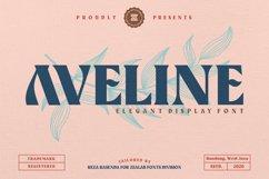 Aveline Elegant Font Product Image 1