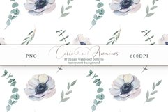 Cotton & Anemones Seamless Patterns Product Image 9