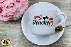 Teacher SVG PNG EPS DXF Teacher Quote SVG Teacher Life SVG Product Image 4