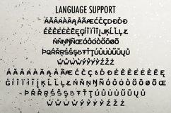 Hard Brush - bold uppercase font Product Image 5