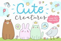 Cute Creatures Vector Set Product Image 1