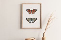 Boho butterfly print, Digital butterfly print, Birthday gift Product Image 6