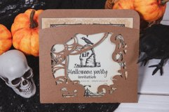 Halloweens Night Envelope Invitation cutting file Product Image 3