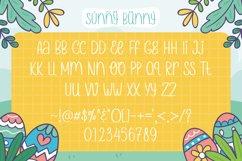 Web Font - Sunny Bunny Product Image 4