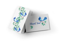 """Watercolor set """"Colored birds"""" Product Image 8"""