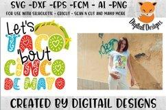 Cinco De Mayo SVG for Silhouette, Cricut, Scan N Cut Product Image 1