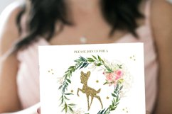 Bambi Baby Shower Invites Deer Baby Shower Invitations Fores Product Image 2