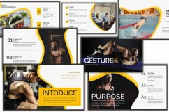 Gesture Athletics Powerpoint Template Product Image 4