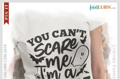 You Can't Scare Me I'm a Mom SVG Cut File Product Image 3
