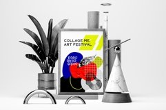 Collage me! Abstract and modern patterns and shapes set. Product Image 2