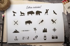 Adventure SVG Mega Bundle, Logo Creator Kit, Camping DXF Set Product Image 6
