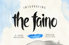 the faino typeface Product Image 1