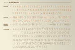 GR Milesons | Artdeco Typeface Product Image 6