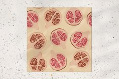 Abstract pomegranate pattern Product Image 2
