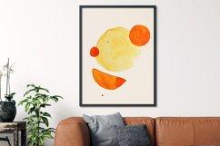 Geometric print art, Boho geometric shapes, Minimalist print Product Image 3