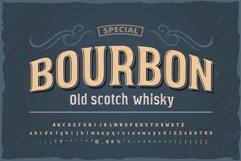 Bourbon vintage font Product Image 1