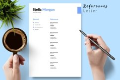 Simple Resume CV Template for Word & Pages Stella Morgan Product Image 6