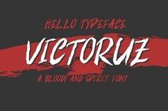 VICTORUZ BLOODY FONT Product Image 1