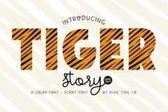 TIGER STORY Color Font Duo Product Image 1