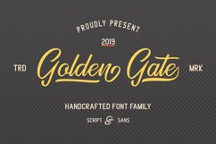 Golden Gate | Handcrafted Font Familyy Product Image 2