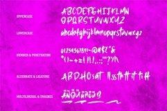 Web Font Harkost - New Brush Font Product Image 6